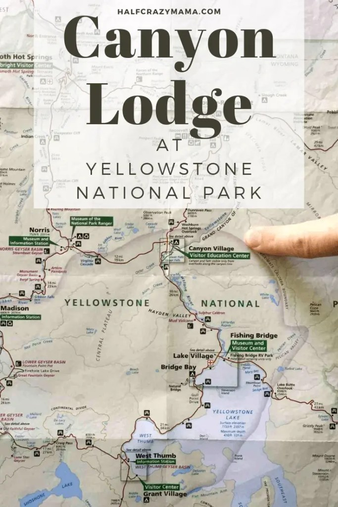 Staying at Canyon Lodge • Yellowstone National Park Hotels on