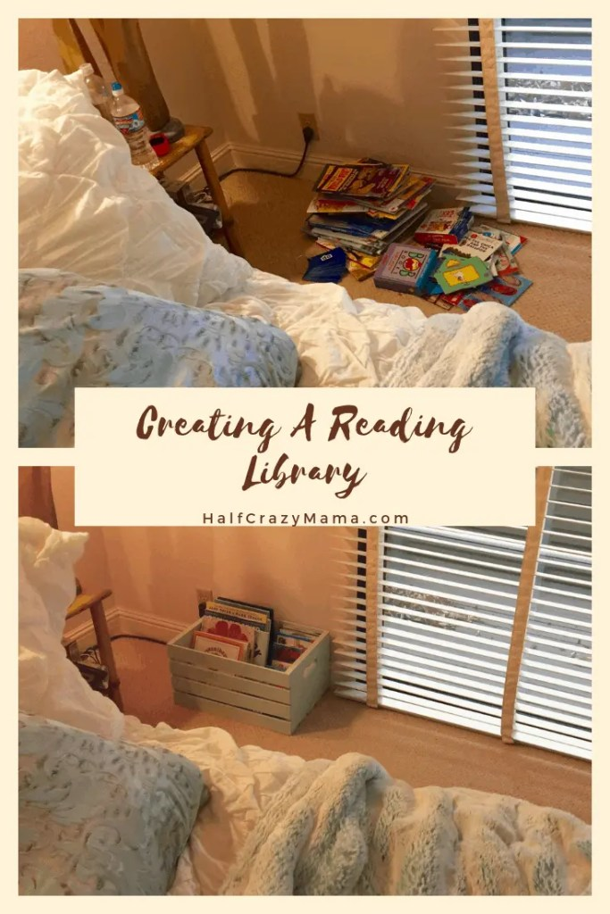 Creating a reading library for your kids