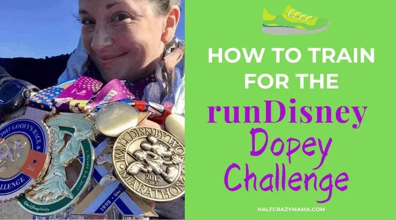dopey challenge training