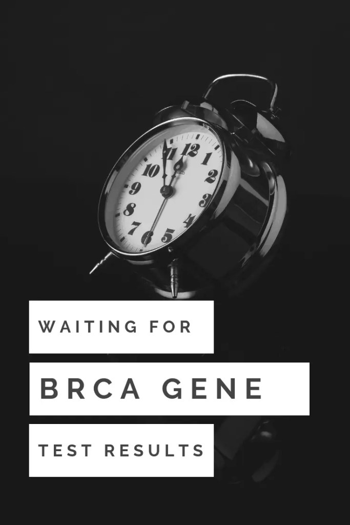 Waiting for BRCA Gene test Results