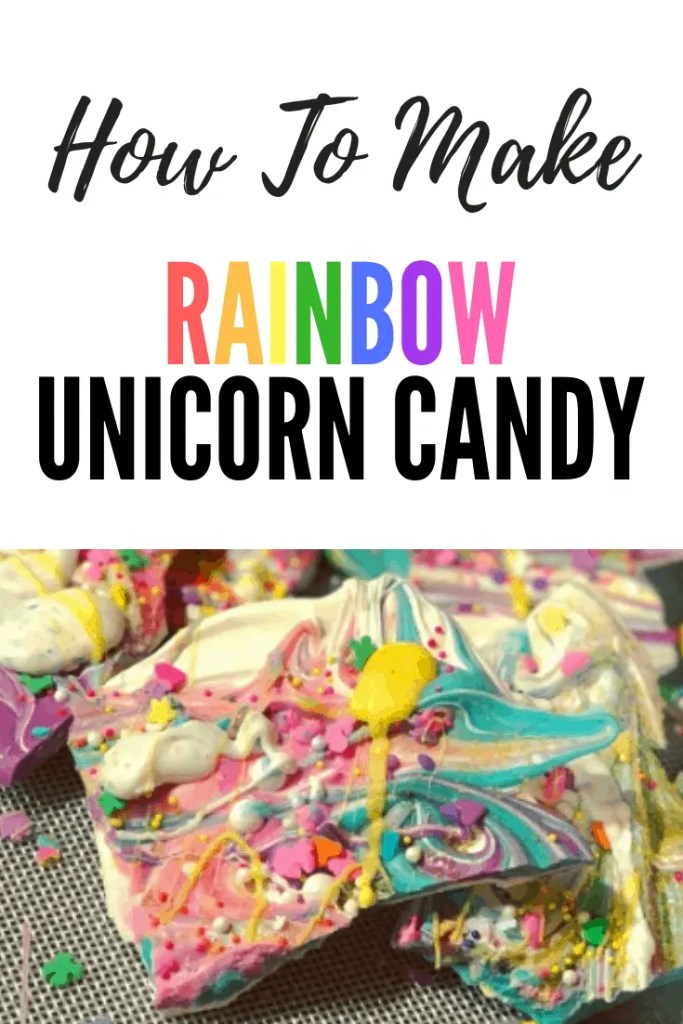 How to make rainbow unicorn candy. | party favors | candy melts | rainbow candy | dessert | unicorns | kids party idea