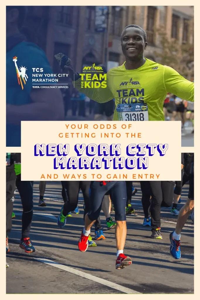 How to get into the New York City Marathon