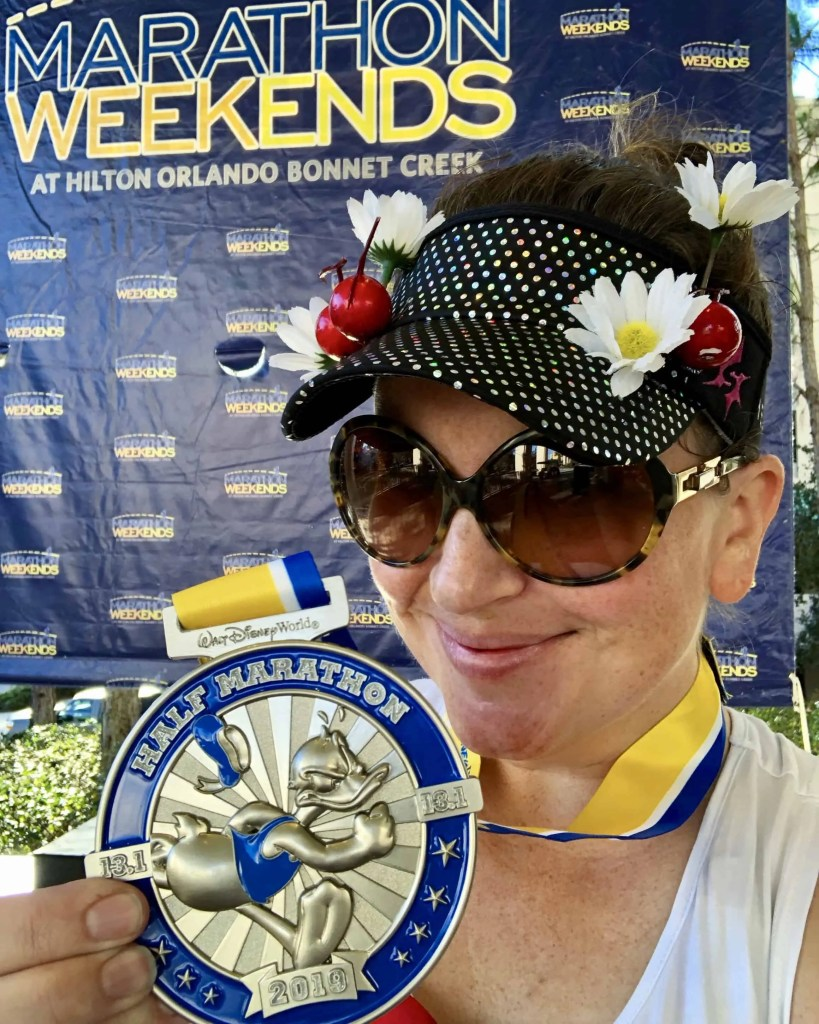 Disney World Half marathon medal