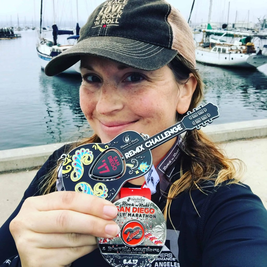 rock n roll marathon series medals