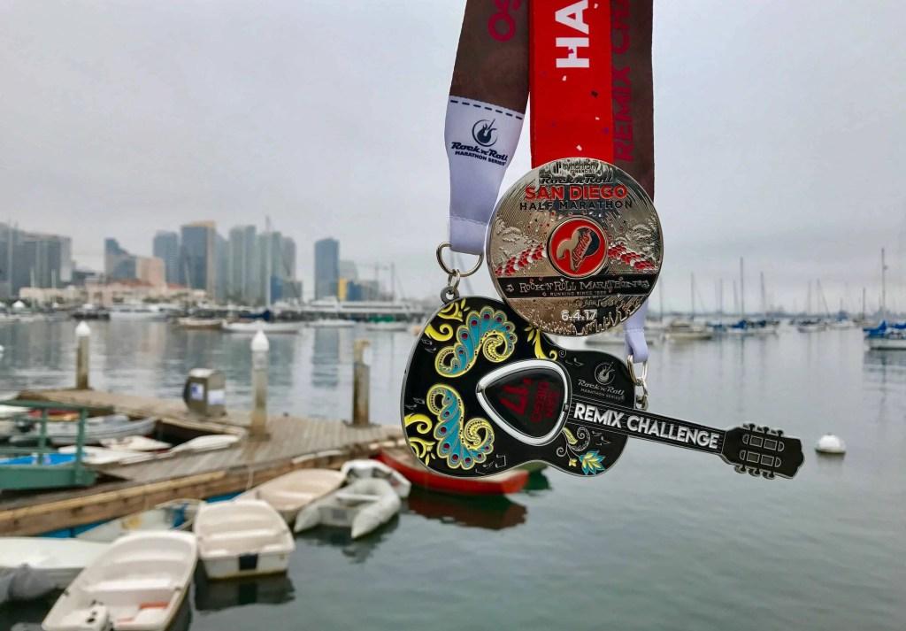 Rock n Roll remix challenge medals