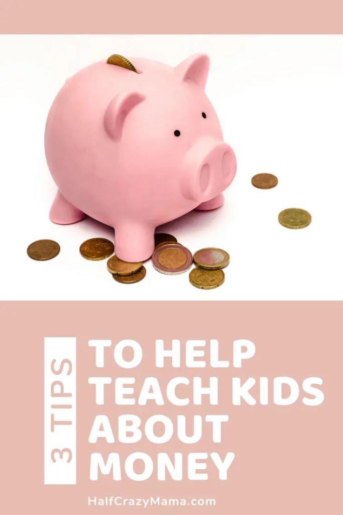 Piggy bank teach kids about money