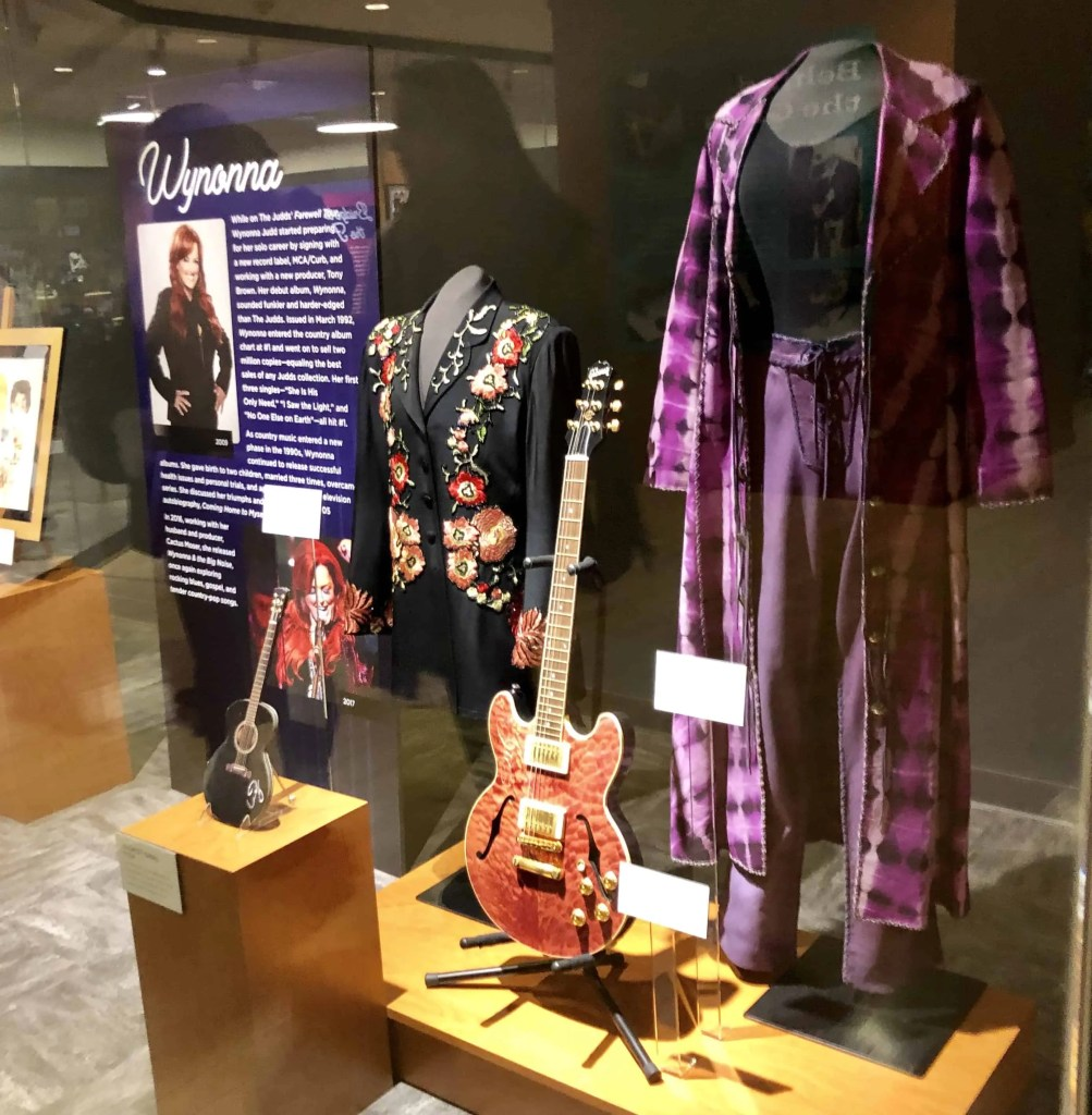 Wynonna Display at Country Music Hall of Fame
