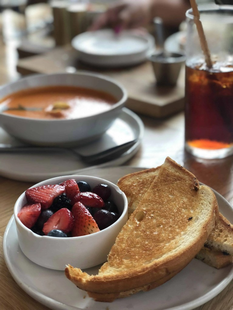 Magnolia Table Grilled Cheese and Tomato Soup