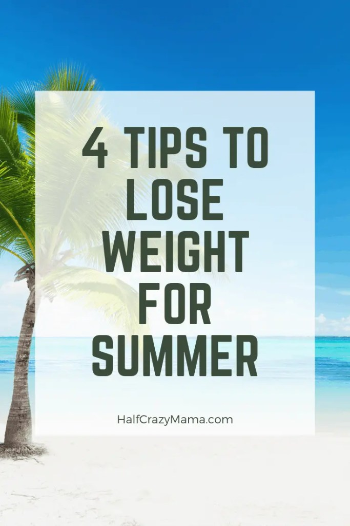 4 tips to lose weight for summer beach day