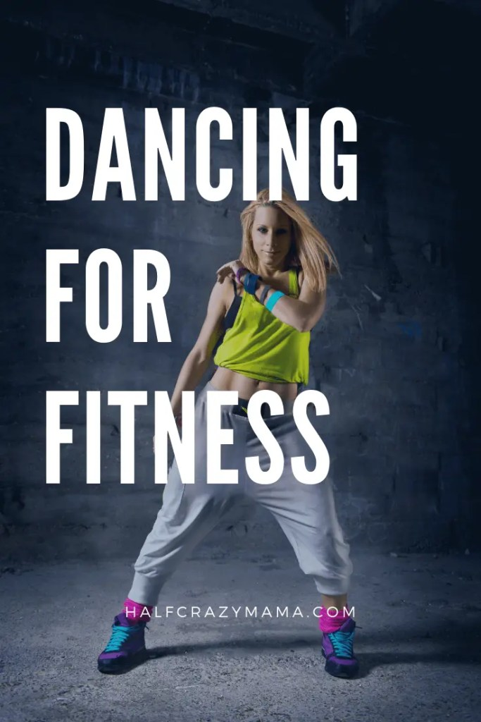 Dancer who dances for fitness