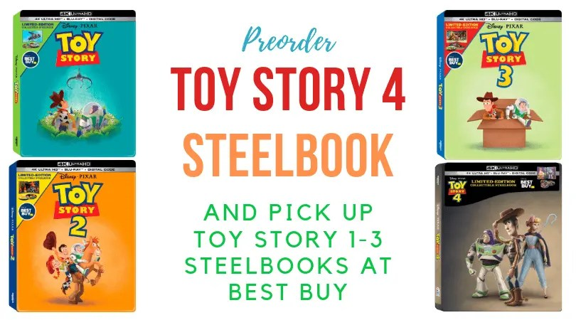 Preorder Toy Story 4