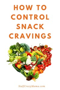 How to control snack cravings