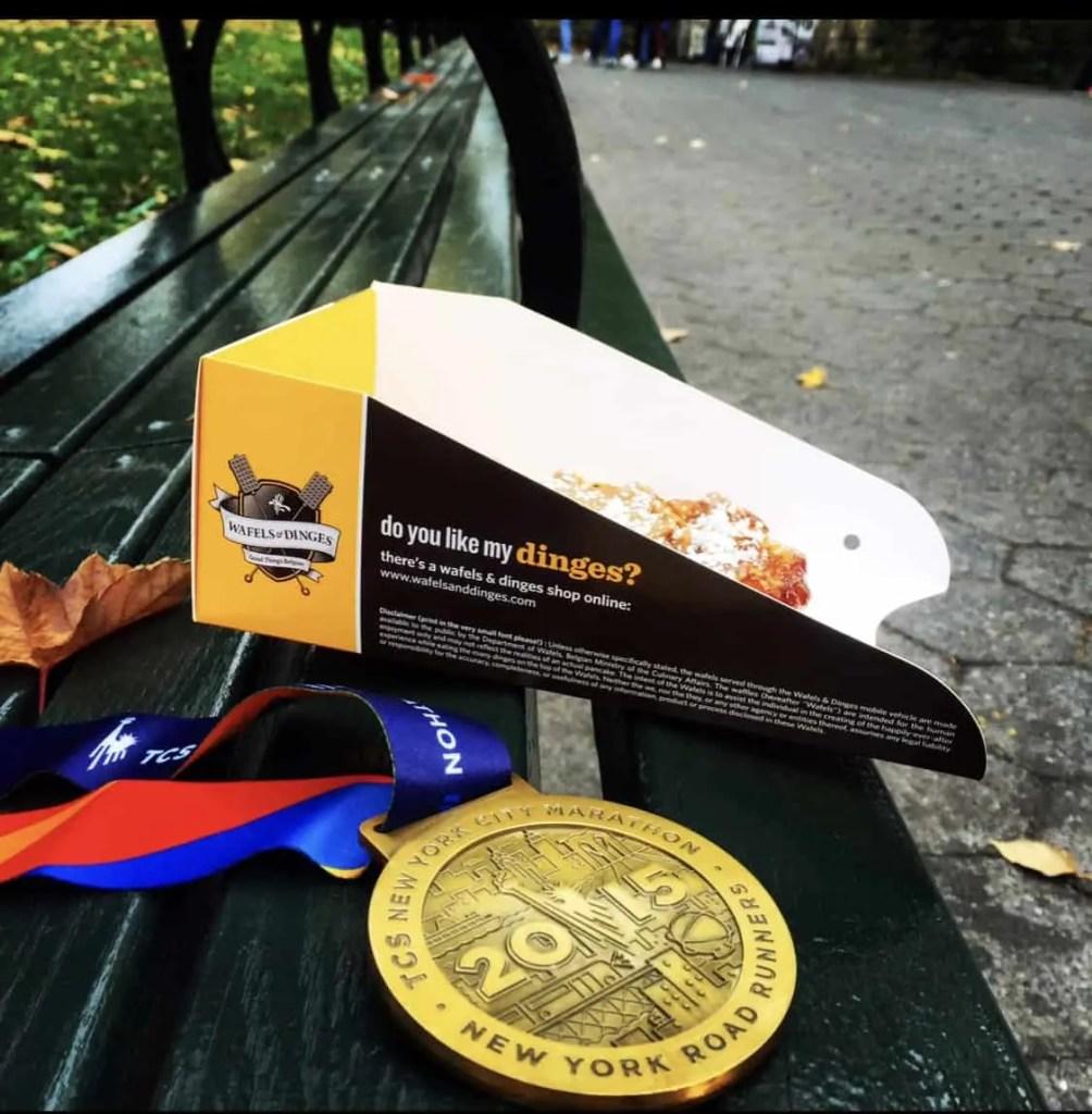 NYC Marathon Medal