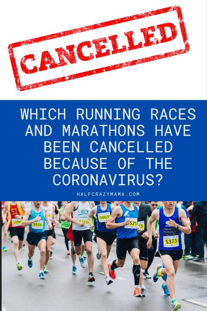 running and coronavirus cancelations