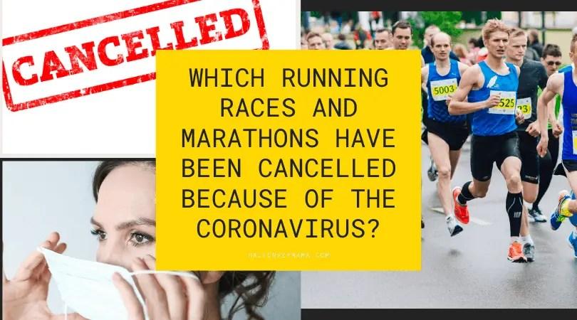 running and coronavirus