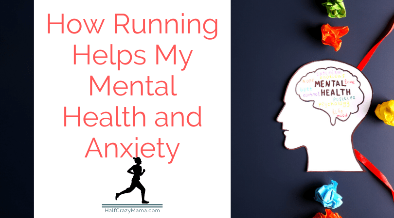 mental health with runner and head