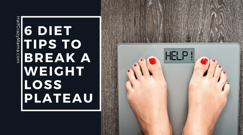 woman standing on scale that says help