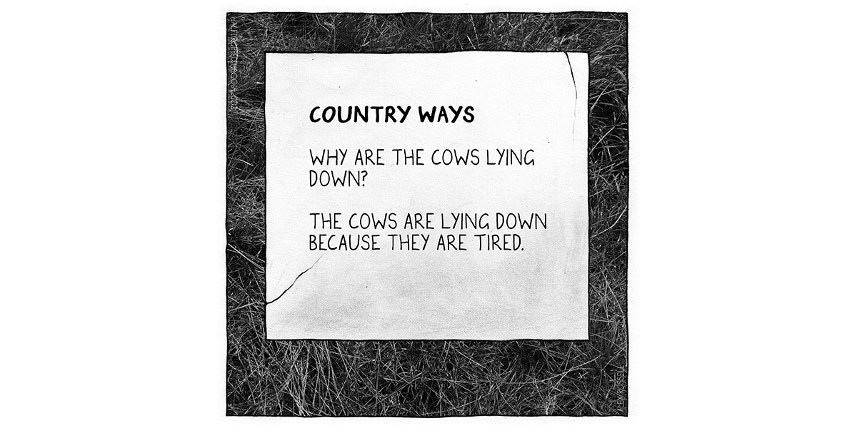 Country Ways Halfdropped cartoon