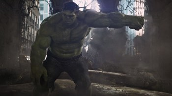 The Hulk, right after he punched Thor in