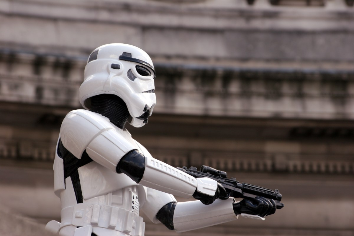 Stormtroopers are all clones