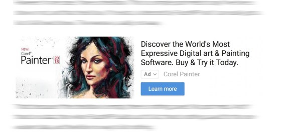 An example of in-article ads