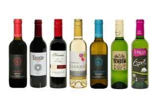 winter wijnen halfes kleine mini flessen wijn 375ml 37,5cl italië frankrijk spanje portugal witte rode rosé
