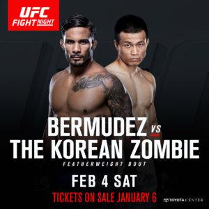 UFC Fight Night Houston: Bermudez vs. Korean Zombie Results & Recap Streaming To Your Face