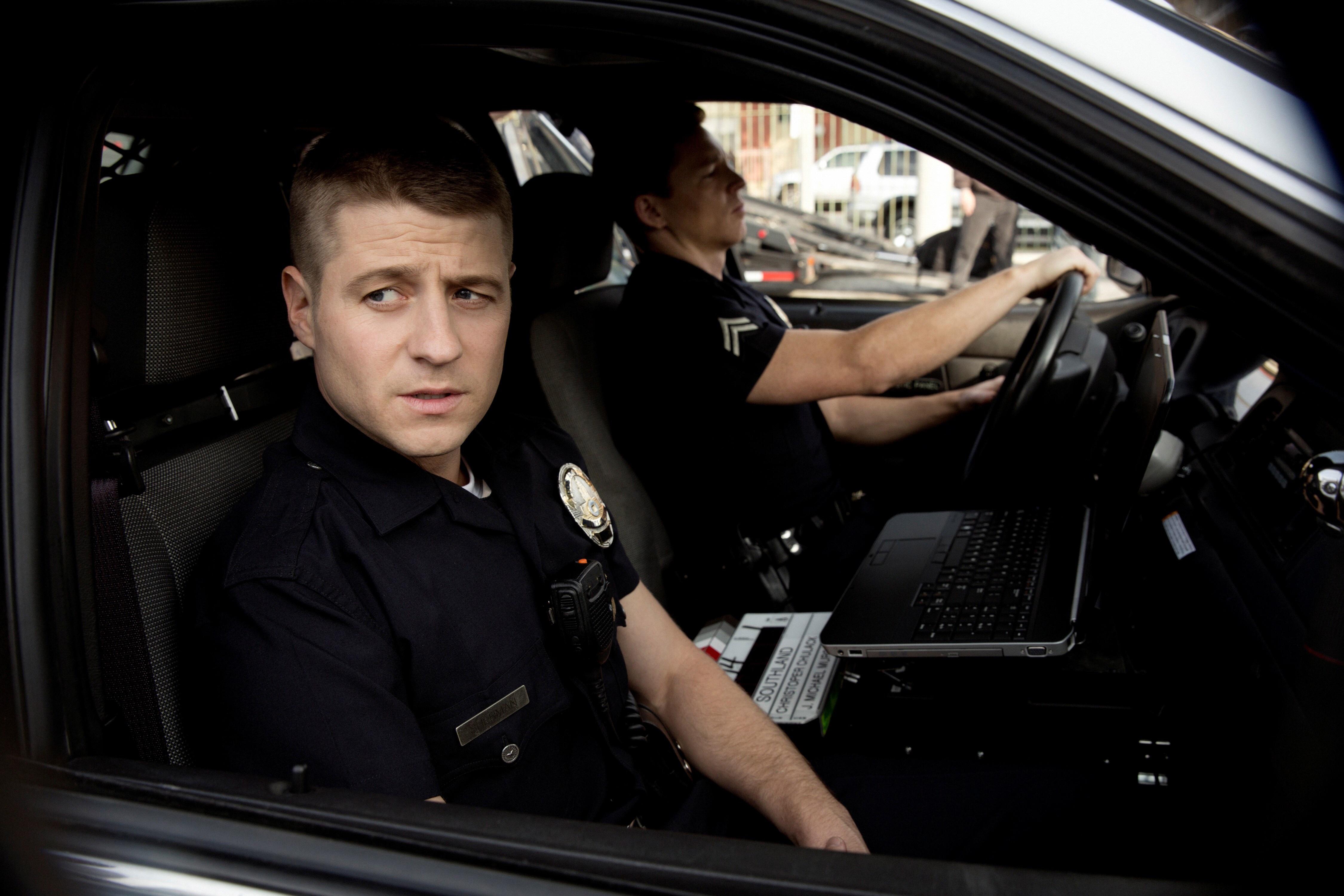 Gordon's first cop job