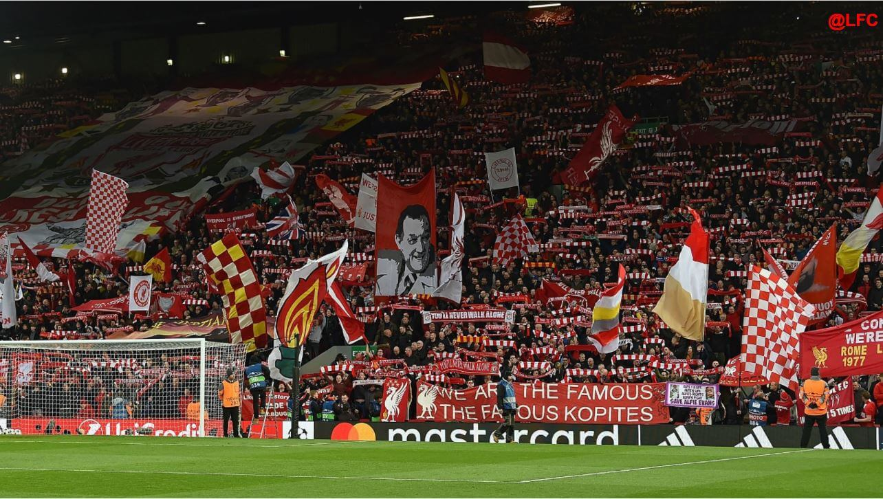 the kop anfield liverpool fc