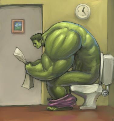 hulk poops