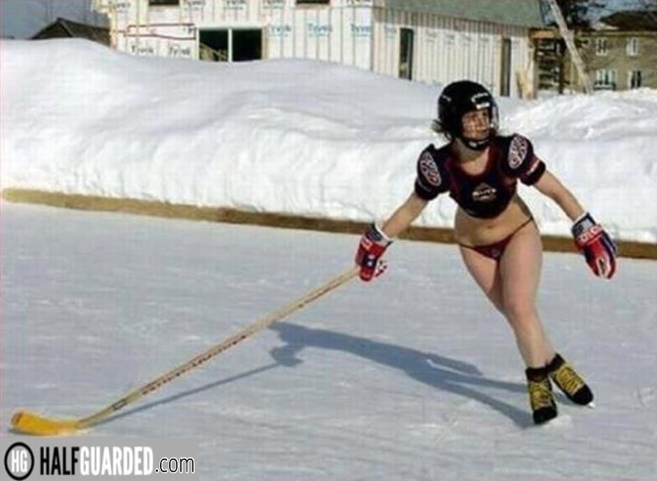 Sexy hockey