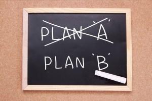 Half Marathon Backup Plan