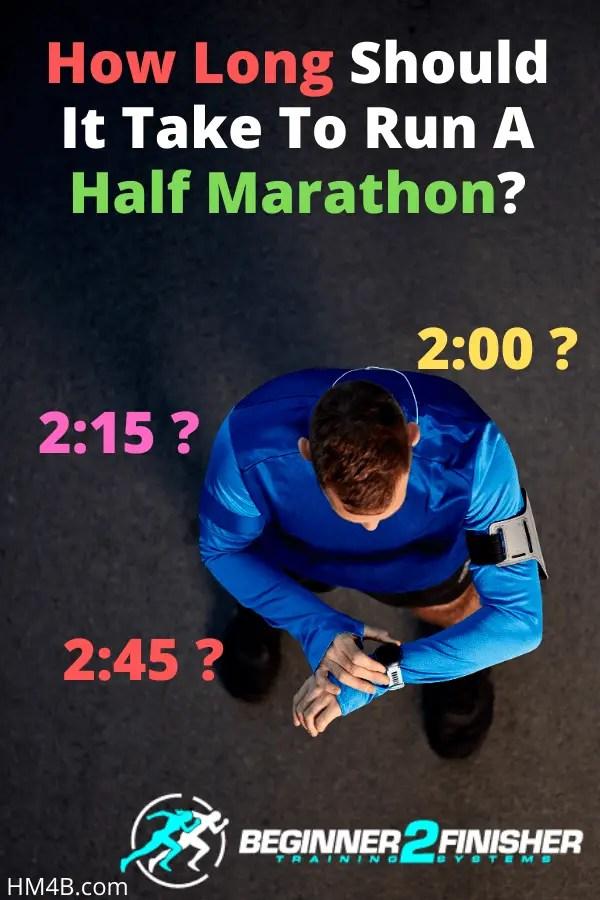 How Long Should It Take to Run A Half Marathon