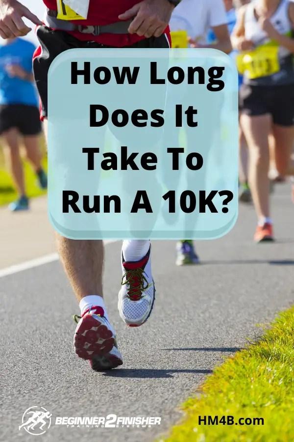 How Long Does It Take To Run a 10K - pin - Half Marathon ...