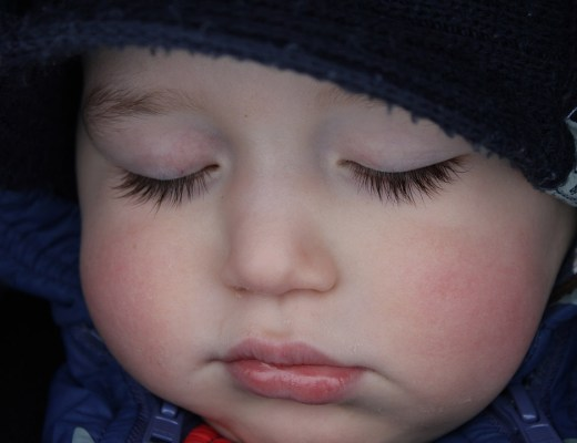 Samuel sleeping
