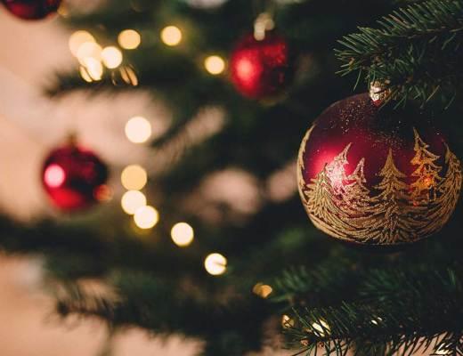 Christmas, christmas tree, bauble and lights HD photo by freestocks.org (@freestocks) on Unsplash