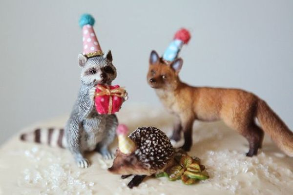 Woodland party animals, Feature Friday | Halfpint Design