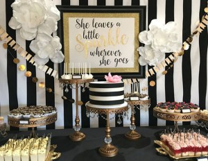 Kate Spade Party. Achromatic - Color Party Trend 3: Color sets the stage for fabulous fun | Halfpint Design