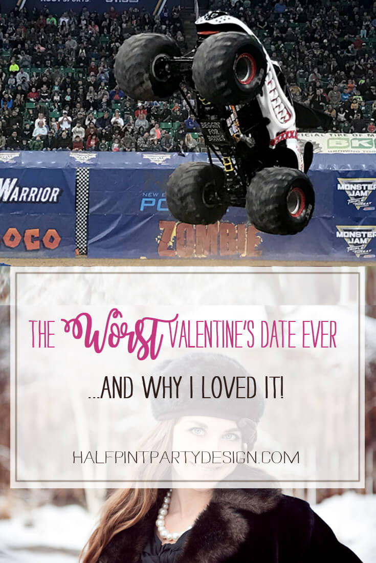 """What could possibly be construed as the """"Worst Valentines Date"""" ever? Take a read and I'll tell you why this disastrous evening turned into a memory I absolutely love! Halfpint Party   Valentine's Day Date ideas, How to connect with your spouse, Valentine's Day date pressure? Valentine's ideas."""