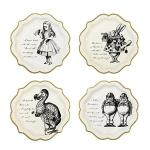 Lunch plates. Alice in Wonderland tea party sources | Halfpint Design