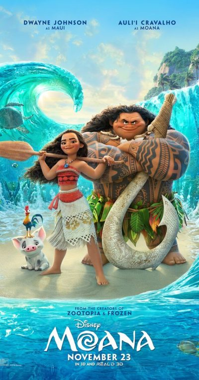 Mini-Oscars: for the best children's movies of 2016 voted on by children | Halfpint Design - Moana