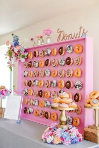 Why I Say NO to Dessert Buffets | Halfpint Design - Kids these days already consume way too much sugar. Let's give them all the fun without the crash. Donut parties are hot. I'm sick after ONE donut. What do we do for the rest of the party?