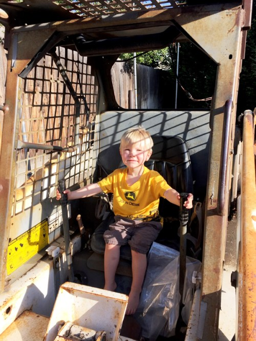 3rd birthday - Construction party blast | Halfpint Party - Heavy equipment surprise