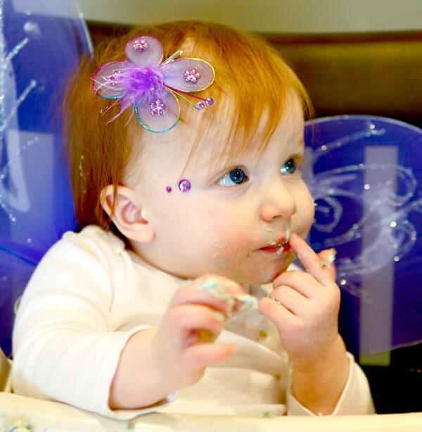"""Butterfly First Birthday Party 