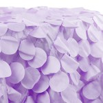A Passion for Purple | Halfpint Design - Gorgeous petal tablecloth for a floral themed purple party.
