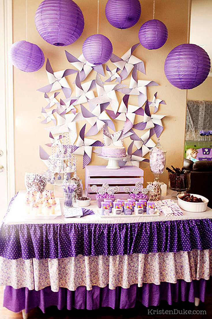 A Passion for Purple   Halfpint Design - Great party for a birthday girl with a passion for purple! The party was decorated with all things purple.