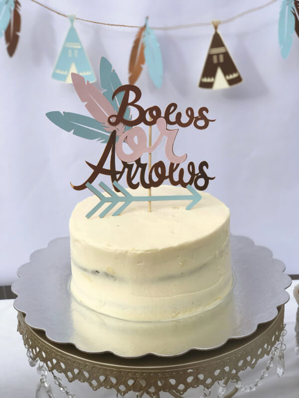 Bows Or Arrows Gender Reveal Party Ideas Halfpint Party