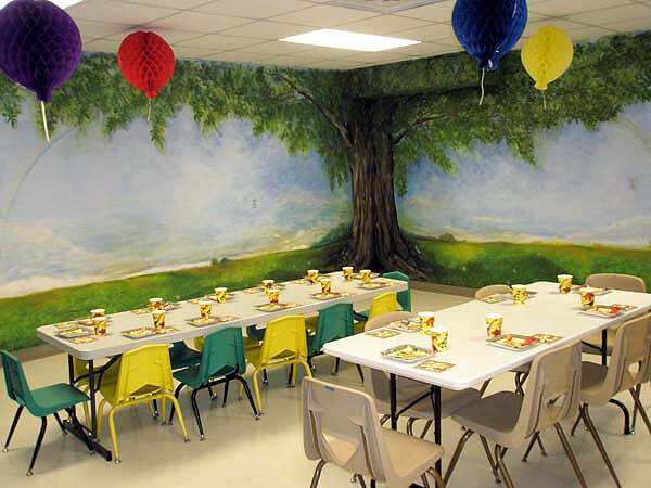 Choose the Perfect Venue with a 10 question checklist | Halfpint Design - Kids party room at Museum. Very little prep work involved.