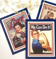 1940's Retro Patriotic Banner DIY
