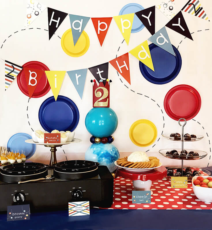Have A Ball Party Reveal Halfpint Party Design